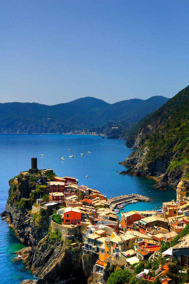 Seaside, Vernazza, #Italy. #Italia