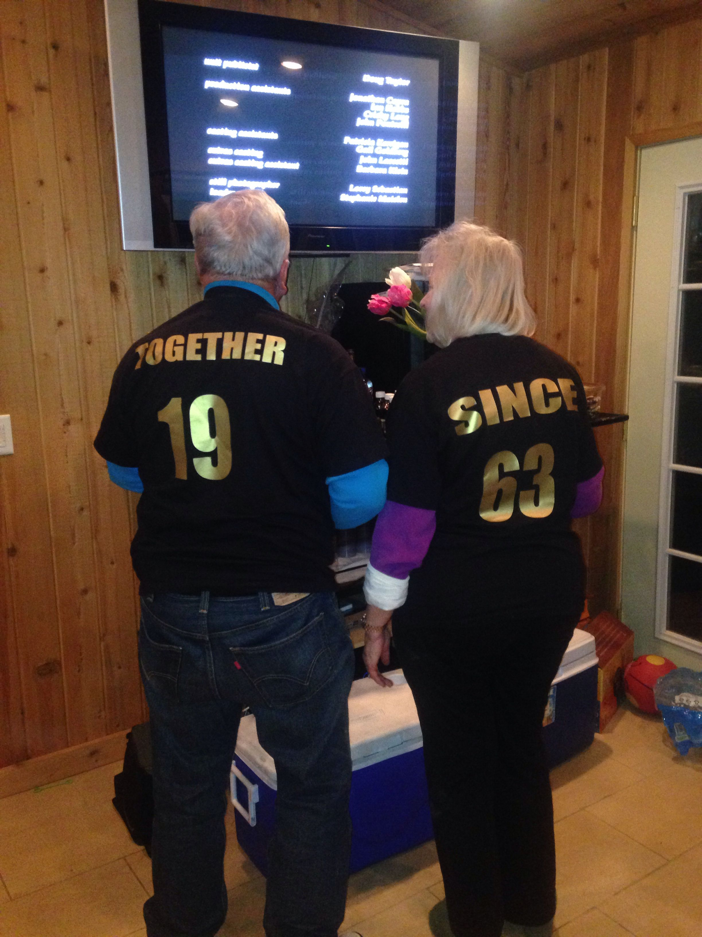 My aunt and uncles 50th anniversary gift Check Pinterest