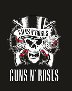 Guns N  Roses - Calavera - Skull logo vector. Download free Guns N  1106338547b