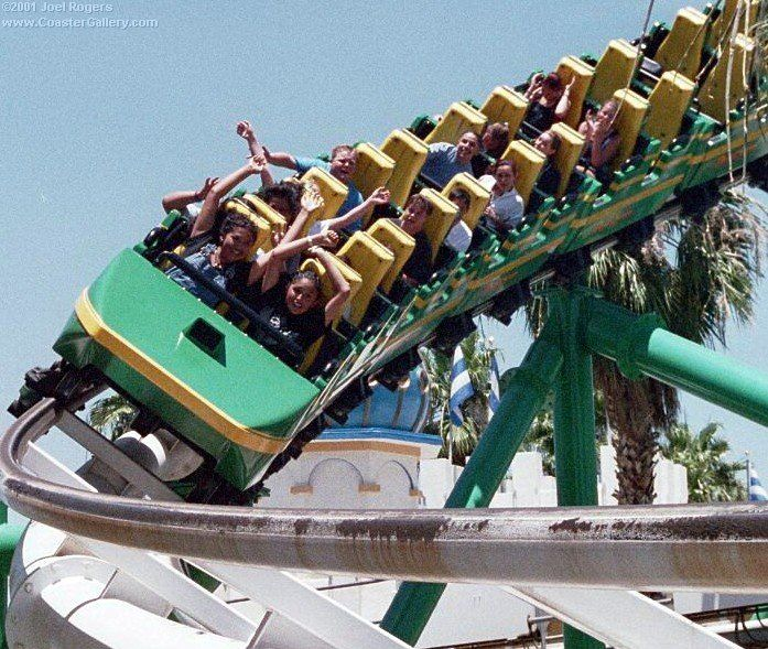 Car Roller Coaster Roller Coaster Cars Largest Roller Coaster