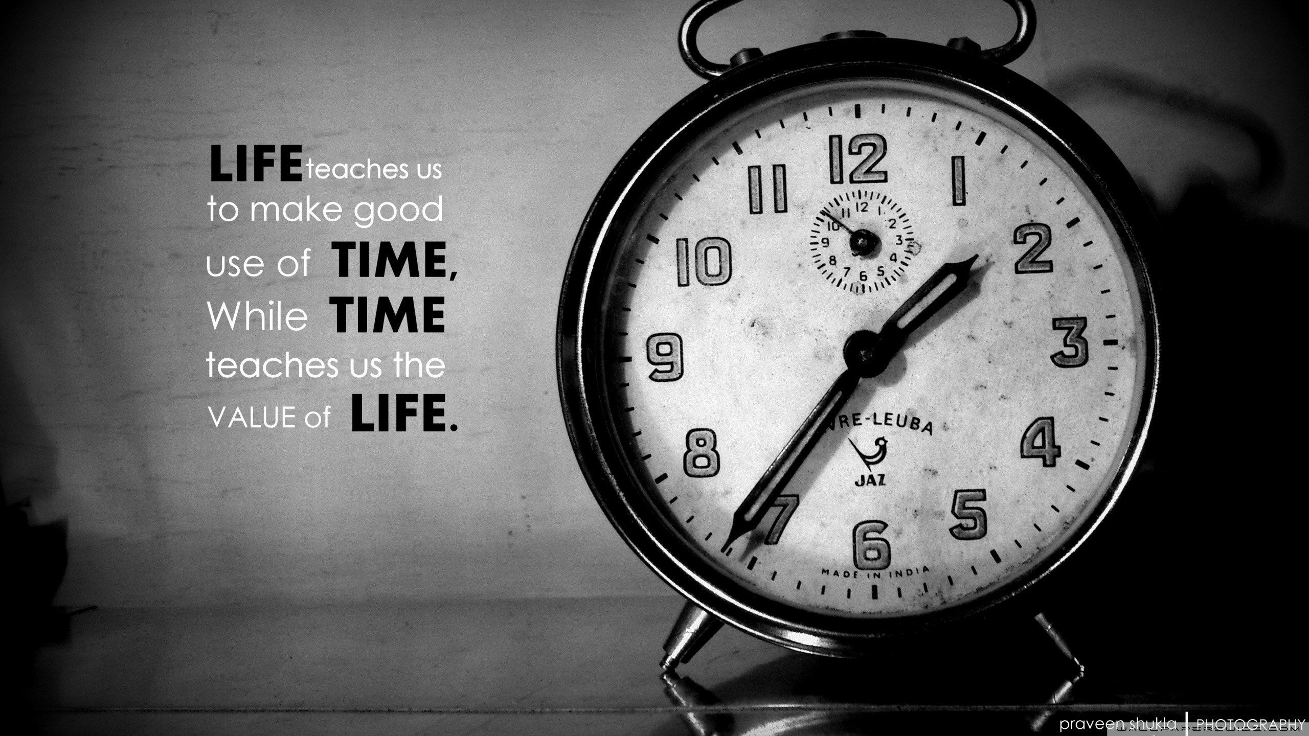 2560x1440 Image For Desktop Clock Life Quotes Wallpaper Time Quotes Good Life Quotes
