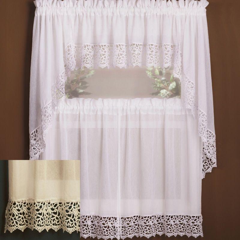 Canjoy International [10084-78847] Isabella Kitchen Curtains ...