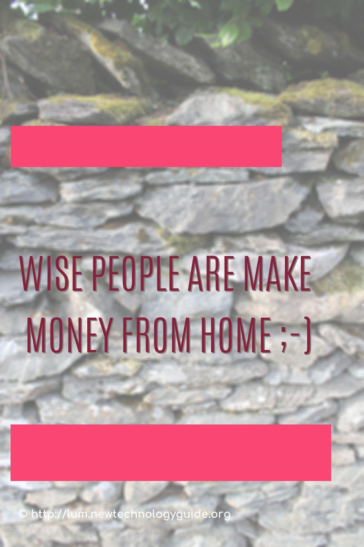 Pin on Make Money at Home