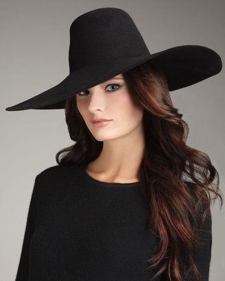 556b3fbf8210 ShopStyle: Lanvin Wide-Brim Felt Hat | My Style | Wide-brim hat ...