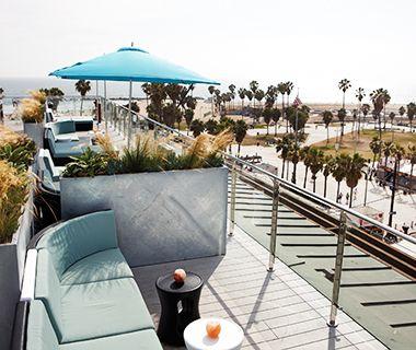 America S Coolest Rooftop Bars Loungerooftop Barunique Hotelsvenice Beachrooftopsamazing