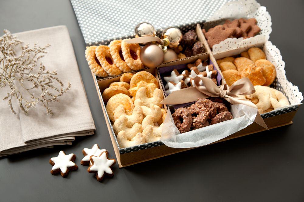 Weihnachtsgebäck Verpacken.Plätzchen Stilvoll Verschenken Weihnachtskekse Keks Geschenke
