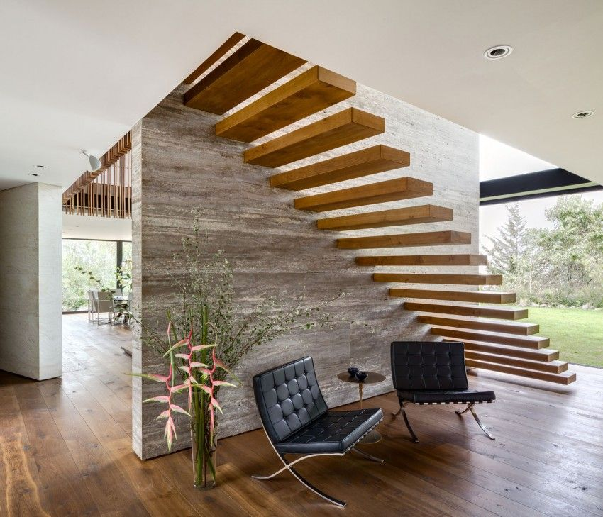 33 Staircase Designs Enriching Modern Interiors With: V9 By VGZ Arquitectura