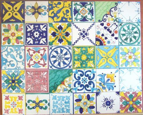 Piastrelle 10x10 Colorate.Dettagli Su Lotto 30 Mattonella Piastrella 10x10 Ceramica
