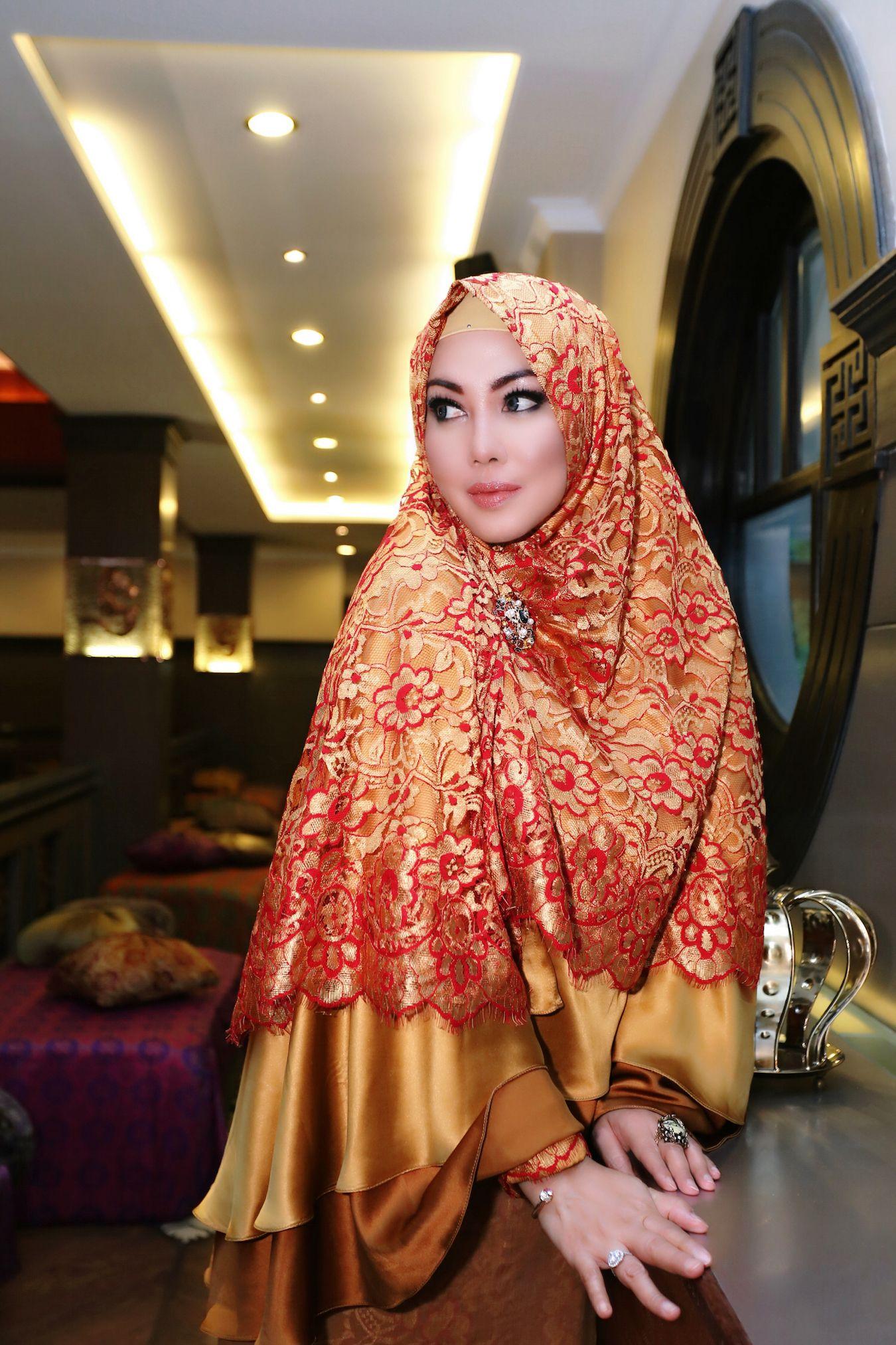 Khimar Syari By Houseoflusense Hijab Fashionistas Pinterest