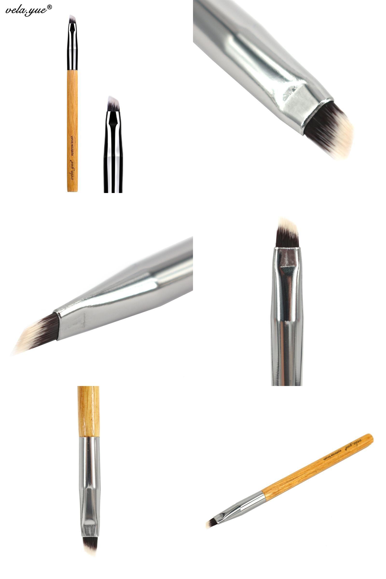[Visit to Buy] vela.yue Angled Eyebrow Eyeliner Brush
