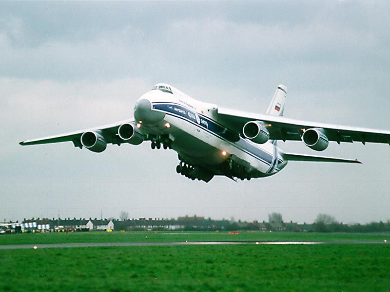 The Antonov 124 The Biggest Cargo Plane In The World