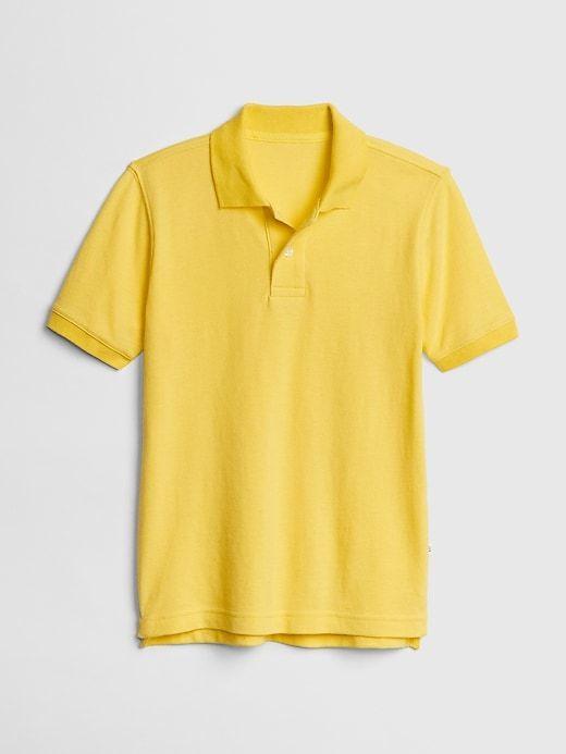 03b9011c Kids Uniform Short Sleeve Polo Shirt in 2019 | Products | Kids ...