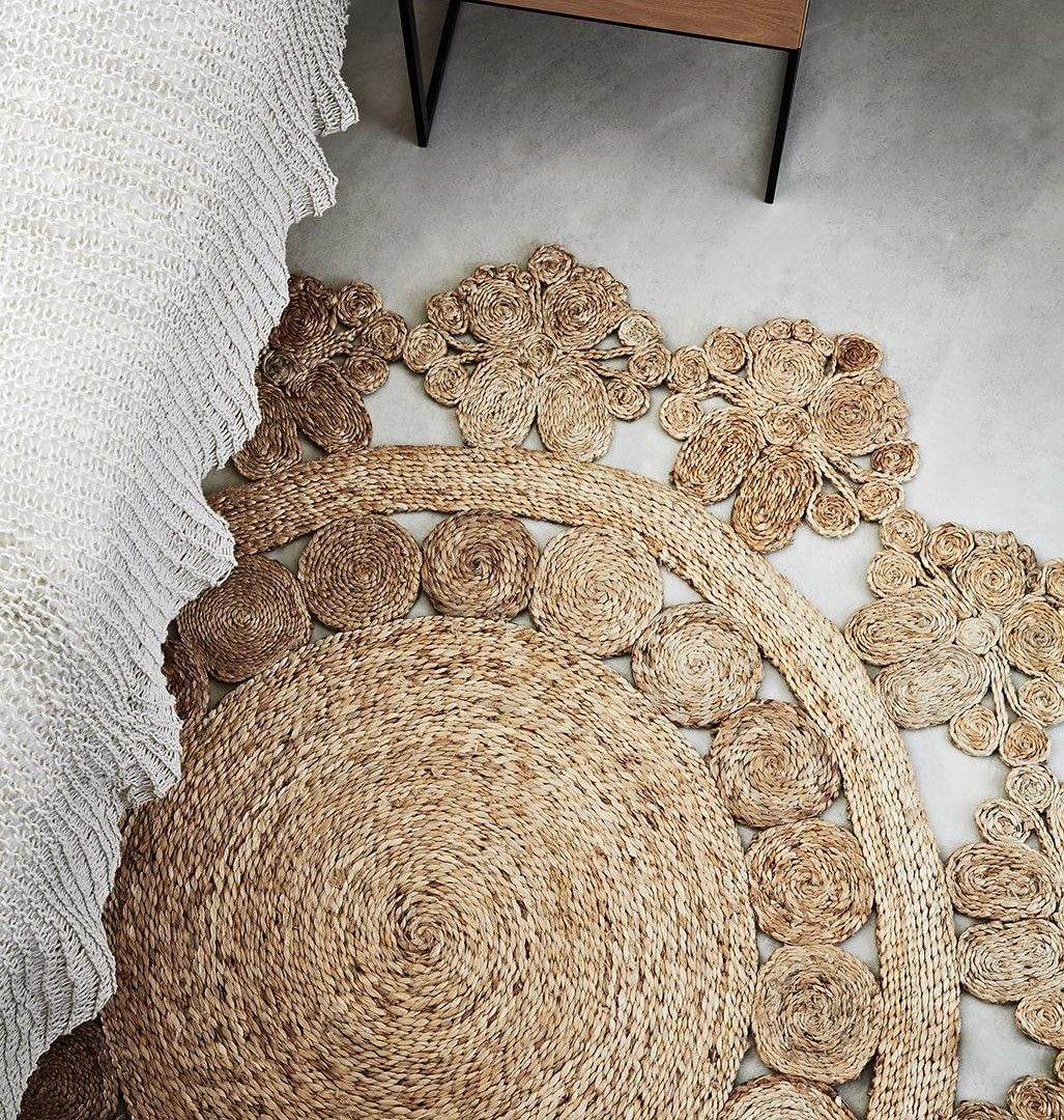 Interesting Seagr Rug For Your Home Interior Ideas Round Decor