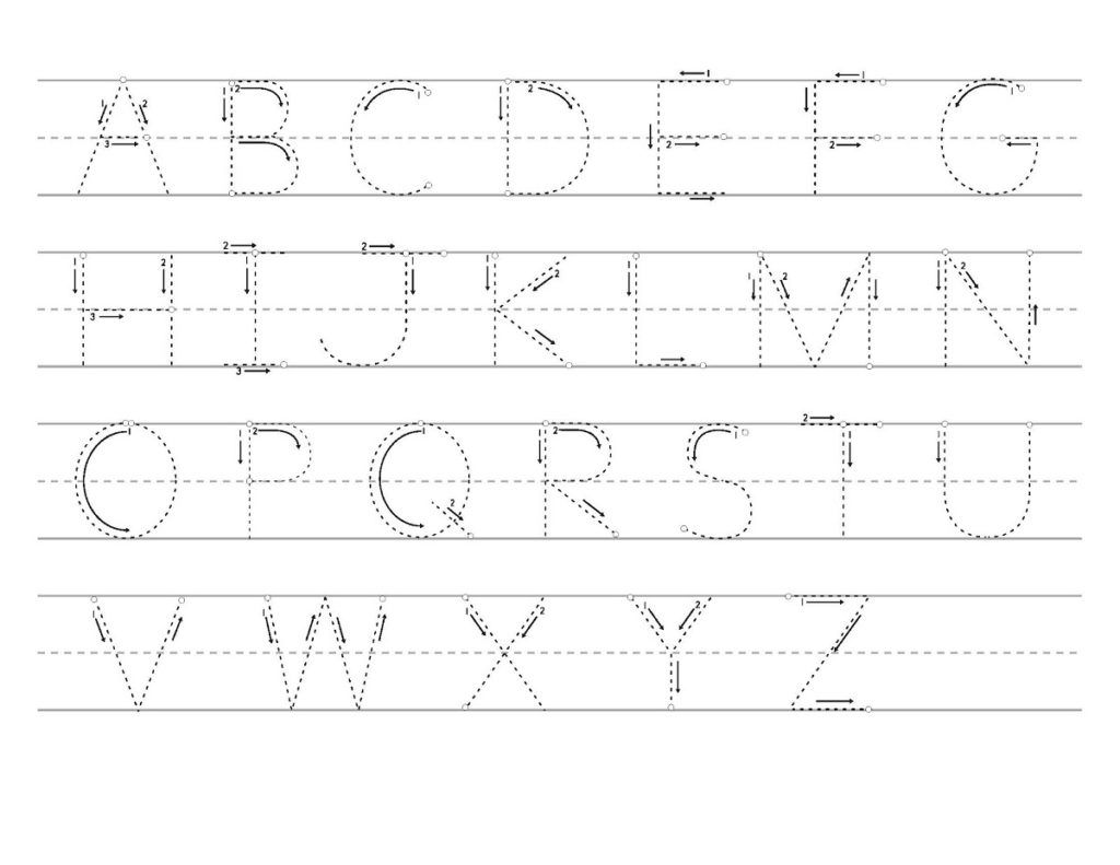 Traceable Alphabet Worksheets A Z Letter Tracing Worksheets Alphabet Worksheets Alphabet Tracing Worksheets