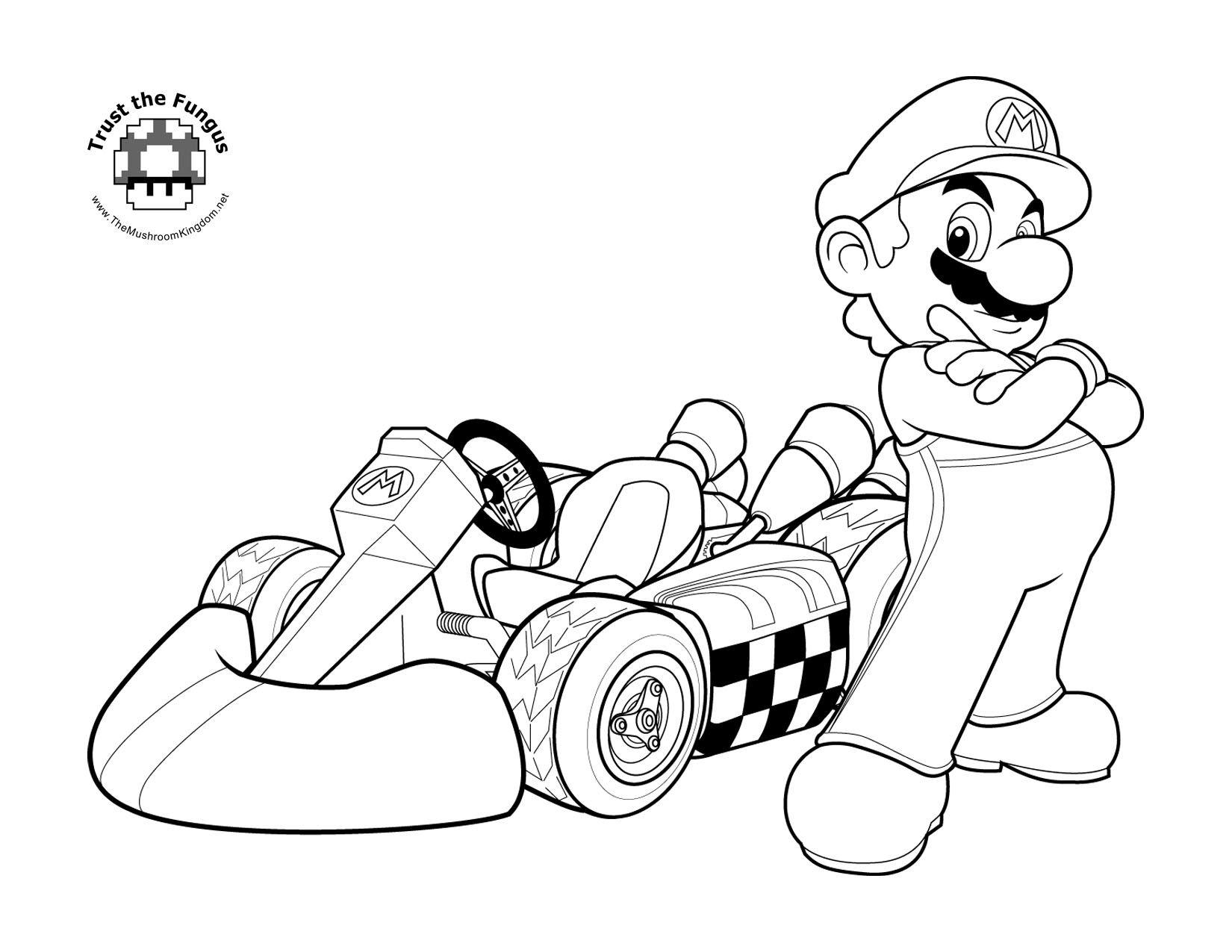 Nuovo Delux Browser Mario Bros Disegni Da Colorare