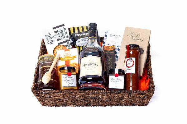 Hennessy V.S.O.P Cognac Liquor Gift Baskets, Gift Baskets For Him, Spirit Gifts, Liqueurs