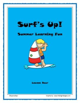 Surf's Up Summer Learning - I like the graphic organizer idea!