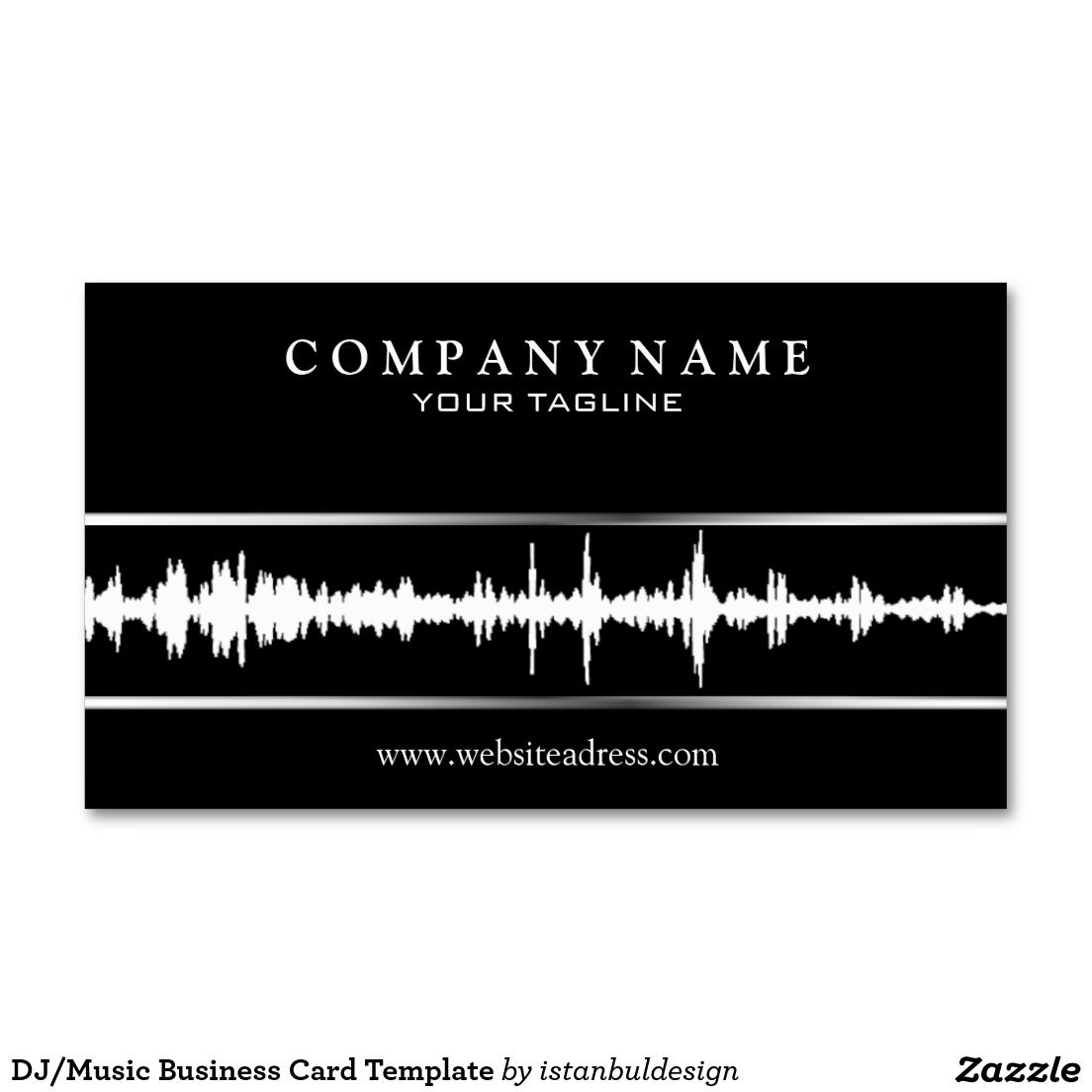 Djmusic business card template dj music card templates and djmusic business card template magicingreecefo Image collections