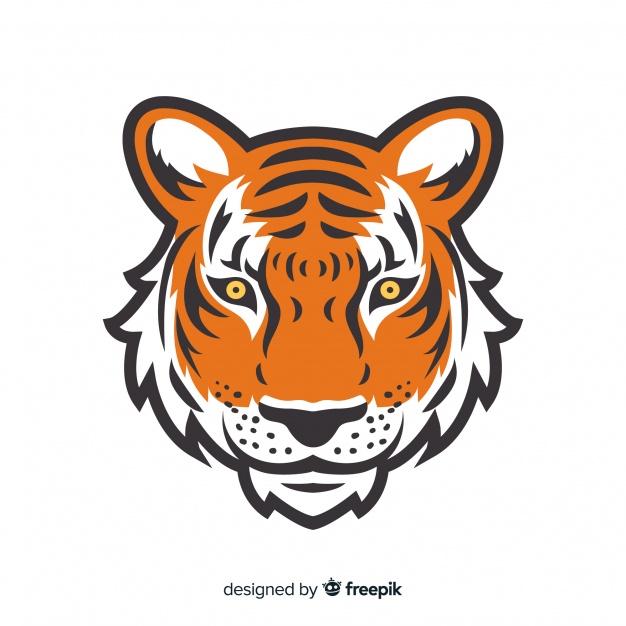Download Tiger Face Background For Free Tiger Face Face Illustration Mascot Design