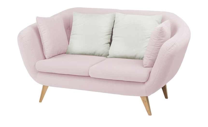 Smart Sofa 2 Sitzig Ricarda Gefunden Bei Mobel Hoffner Sofa Big Sofa Kaufen Rosa Couch