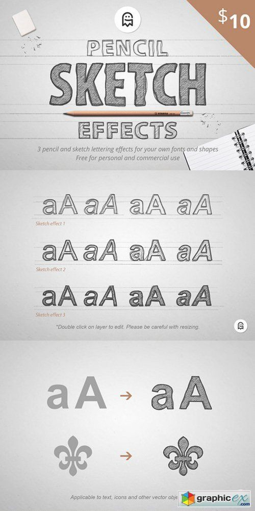 Pencil Sketch Effects | Game Ideas | Sketches, Pencil