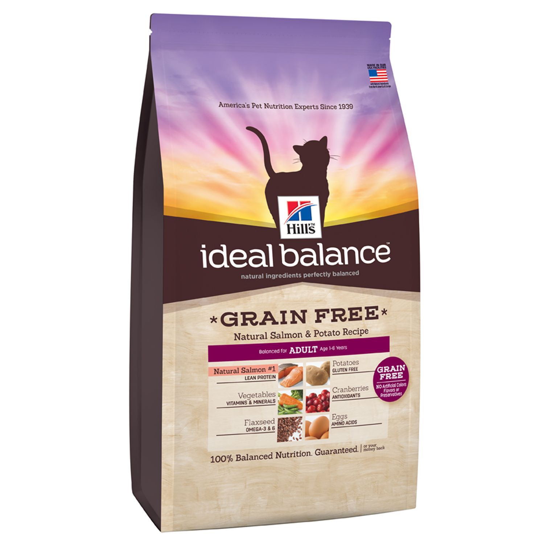 Hills ideal balance grain free salmon potato cat food