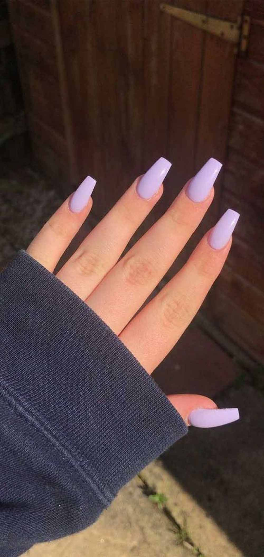 11 Pretty Pastel Color Acrylic Spring Nail Designs to Apply#acrylic #apply #colo…