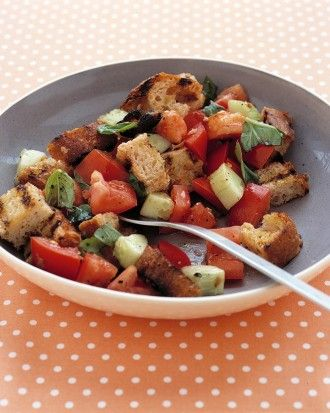 "See the ""Tomato and Grilled-Bread Salad"" in our Quick Side Salad Recipes gallery"