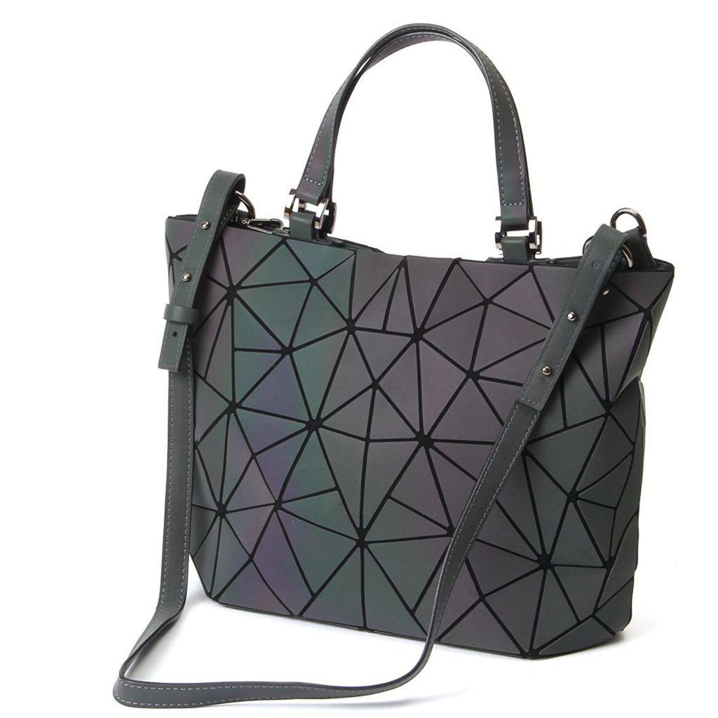 Hot One Geometric Shoulder Bag Chain Crossbody Purses for Women,Ladies Handbags