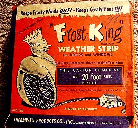 vintage Frost King weather strip   Flickr - Photo Sharing!