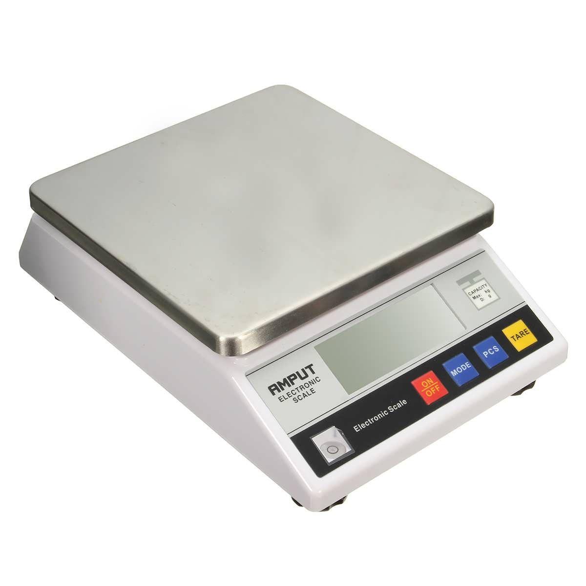10Kg 0.1g Digital Electronic Digital Balance Scale Platform Scale ...