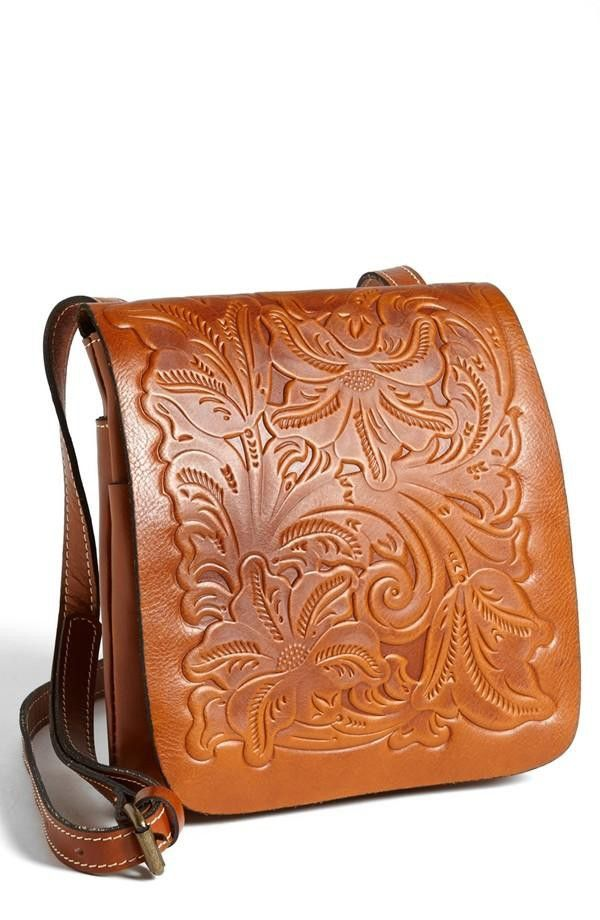 Embossed Leather Bag / Patricia Nash | Accessory