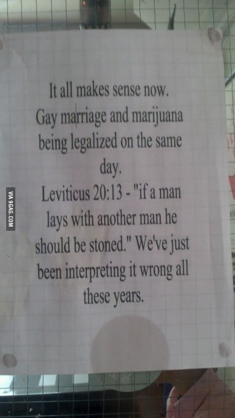 Gay Marriage Being Stoned