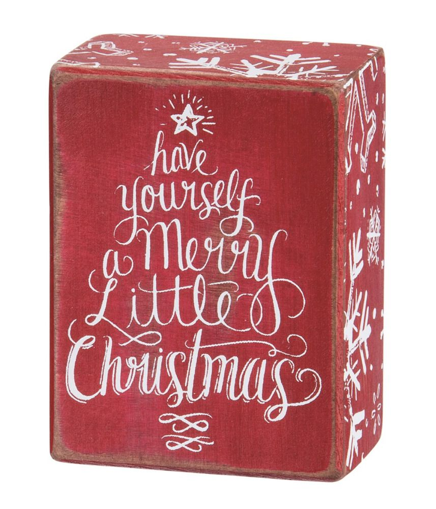 Have Yourself A Merry Little Christmas Sign Wood Chalk Art Primitives By Kathy Christmas Signs Wood Merry Little Christmas Christmas Signs