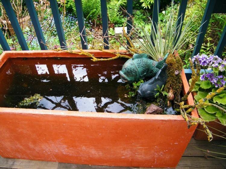 Mini Bassin Pour Rafraichir Le Balcon En 26 Idees