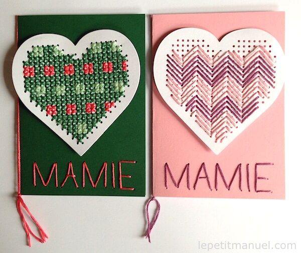 Coeurs pour mamie @ Le Petit Manuel