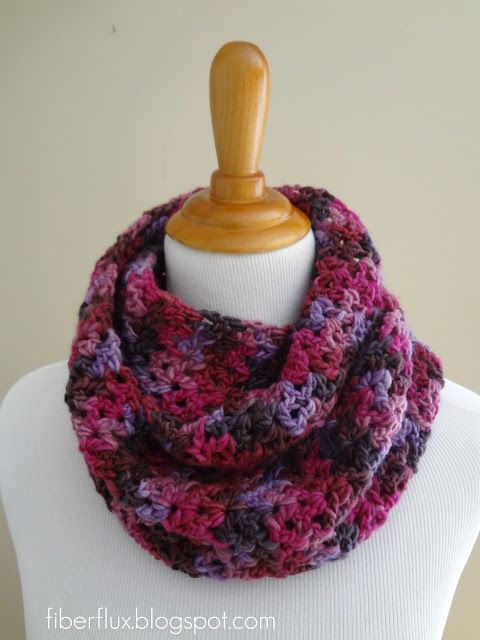 Gelato Infinity Scarf (Free Crochet Pattern) | Crochet | Pinterest ...