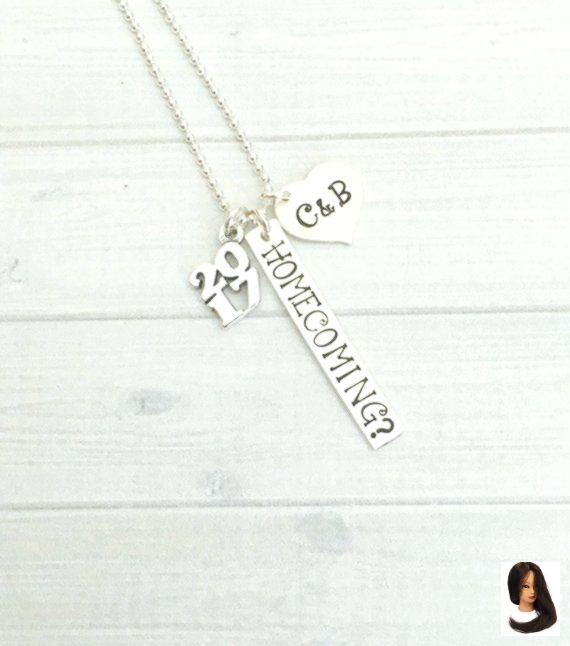 Heimkehr Vorschlag Halskette, HOCO Vorschlag Halskette, Promposal Schmuck, Heimkehr Schmuck, Cotilli #hocoproposalsideas
