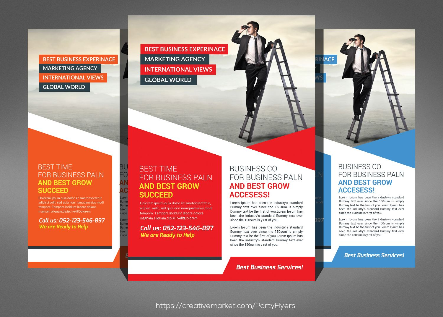Staffing & Recruitment Agency Flyer by Party Flyers on
