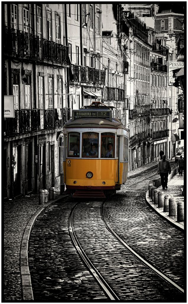 Lisbon, Portugal, a most delightful and beautiful city. Not too many real cities...