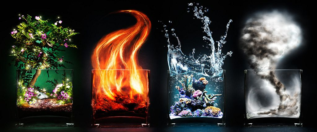 Znalezione obrazy dla zapytania four natural elements gif