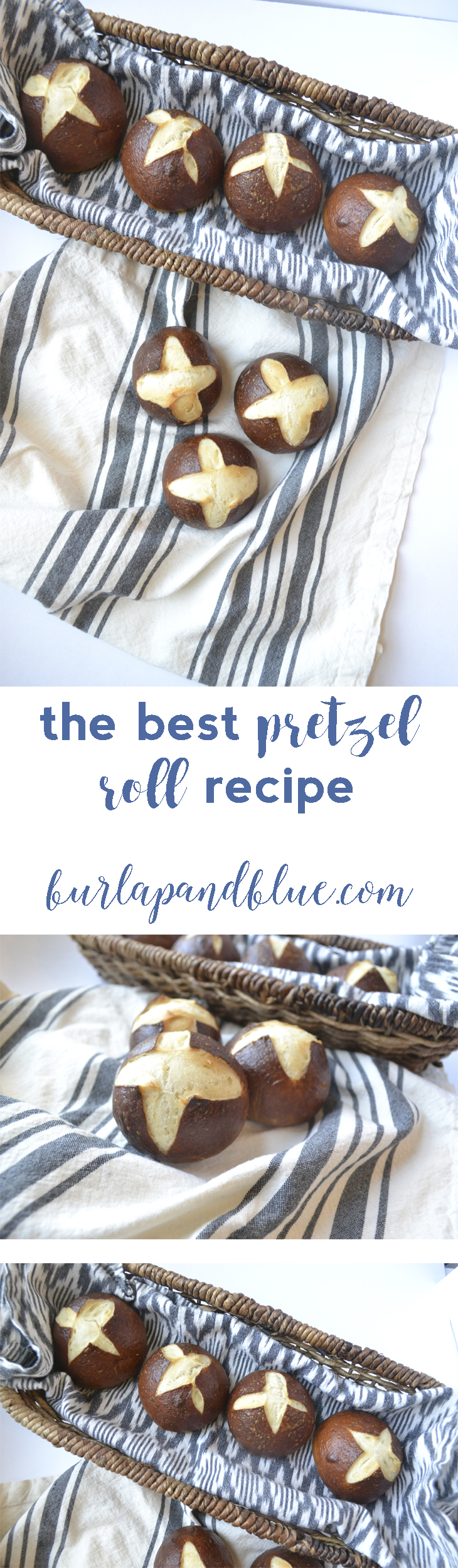 the very best pretzel roll recipe out there!