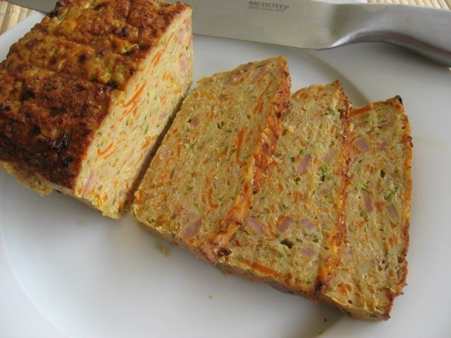 Chicken and Vegetable Meatloaf | Recipe | Meatloaf, Mince ...