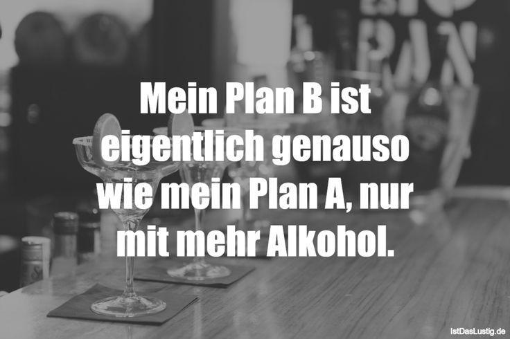 Sprüche Plan B