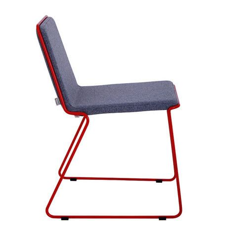 Modern Stackable Chairs Provide Extra Holiday Seating u2013 212 Concept - Modern Living  sc 1 st  Pinterest & Modern Stackable Chairs Provide Extra Holiday Seating | Modern ...