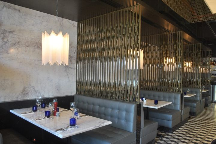 PizzaExpress Restaurant Mumbai India Retail Design Blog