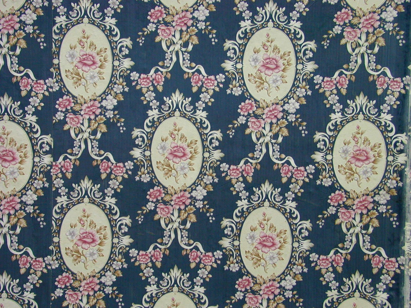 Download Free Victorian Flowers Pattern Wallpaper High Resolution