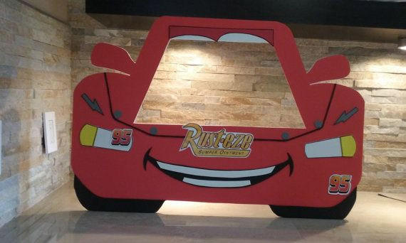 Disney Cars Photo Booth Frame Ray Mcqueen Photo Booth Cars Photo