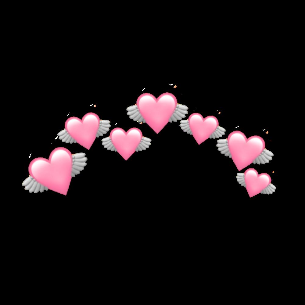 Heart Pink Pastel Pinkpastel Pastelcolor Emoji Crown In 2020 Pink Heart Emoji Emoji Flower Emoji Backgrounds