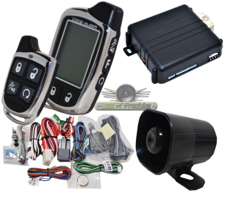 Code Alarm CA6552 Long Range 2 Way Car Alarm And Remote Start ...
